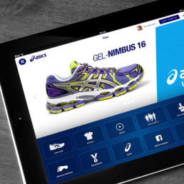 Spitifre Creative Agency Auckland - Asics - App 1
