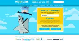 Spitfire Digital Agency - portfolio - insure me 1